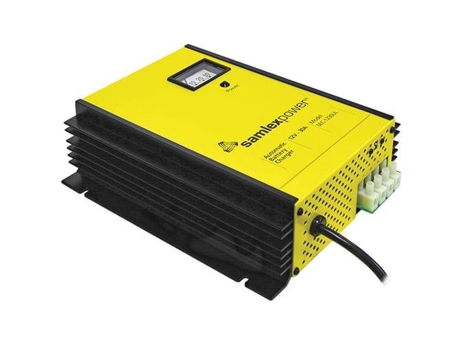 Samlex SEC UL 12V Battery Charger for car, truck or RV