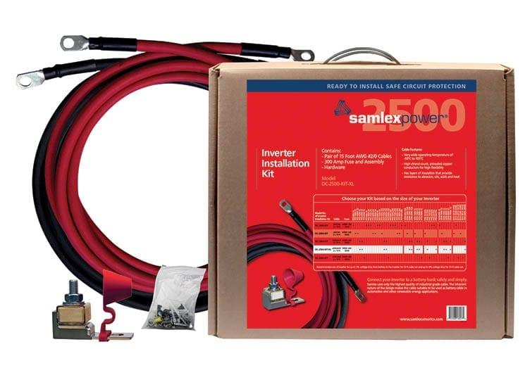 Samlex inverter installation kit