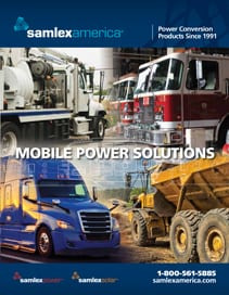 Front Page of Mobile Solutions Brochure