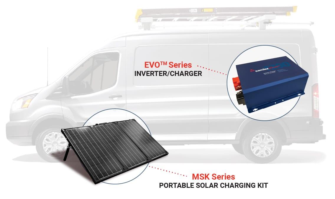 Samlex America Inverter Charger for fleet