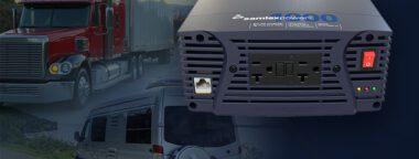 NTX 1000 watt pure sine power inverter for trucks, cars and vans