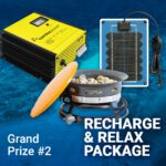 DO MORE with Samlex contest monthly prize recharge relax package