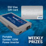 DO MORE with Samlex contest weekly prizes