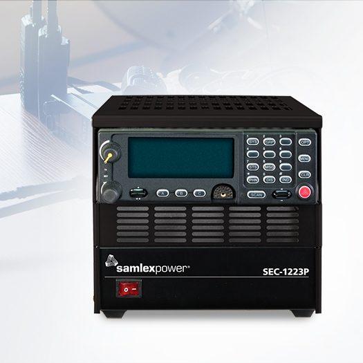 Samlex Base Station radio cabinets and power supplies