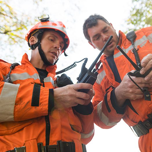 Use LMR radios with samlex power supplies for critical communications